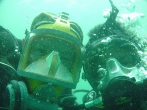 full-face-mask real-divers.com Pattaya diving