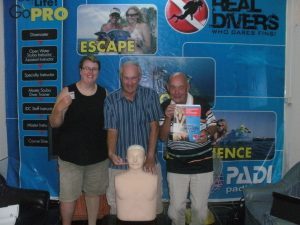 EFR Instructor www.real-divers.com Pattaya Thailand