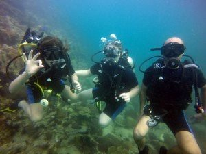 Scuba diving Pattaya speedboat Trips
