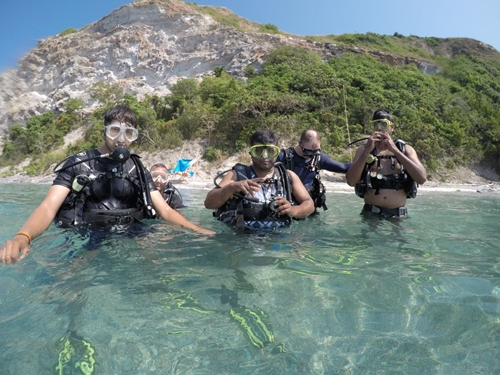 Discover scuba diving Pattaya www.real-divers.com