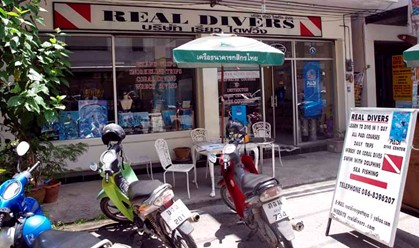 Scuba Diving Pattaya Thailand www.real-divers.com